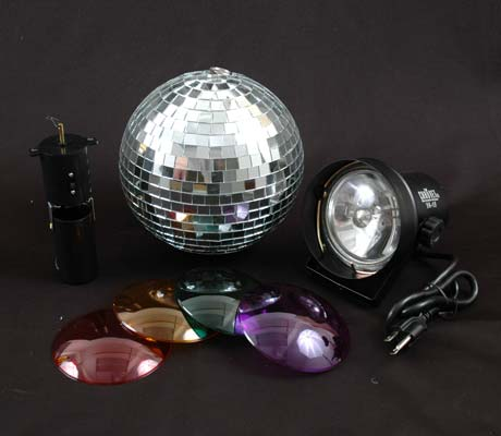 "Picture of 8"" Mirror Ball Party Kit"