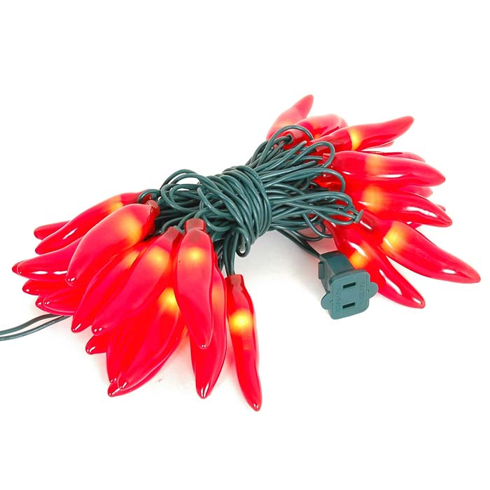 Picture of Red Chili Pepper String lights 35 Count