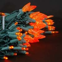 Picture for category Amber Orange LED Christmas Lights