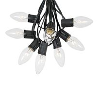 Picture for category C9 Black Wire Outdoor String Light Sets