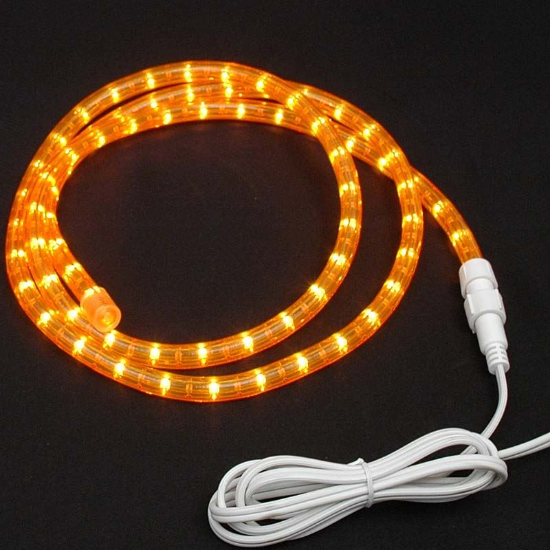 Custom amber rope light kit 120v 12 novelty lights picture of amber rope light custom cut 12 120v incandescent aloadofball Choice Image