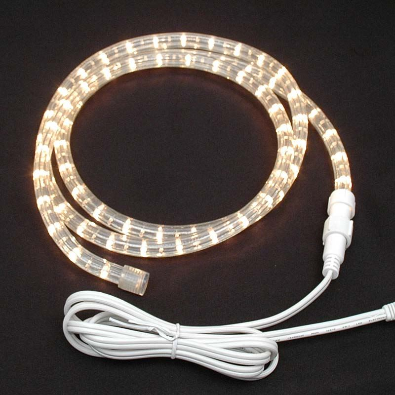size 40 806d0 7fdc1 Clear Rope Light Custom Cut 1/2