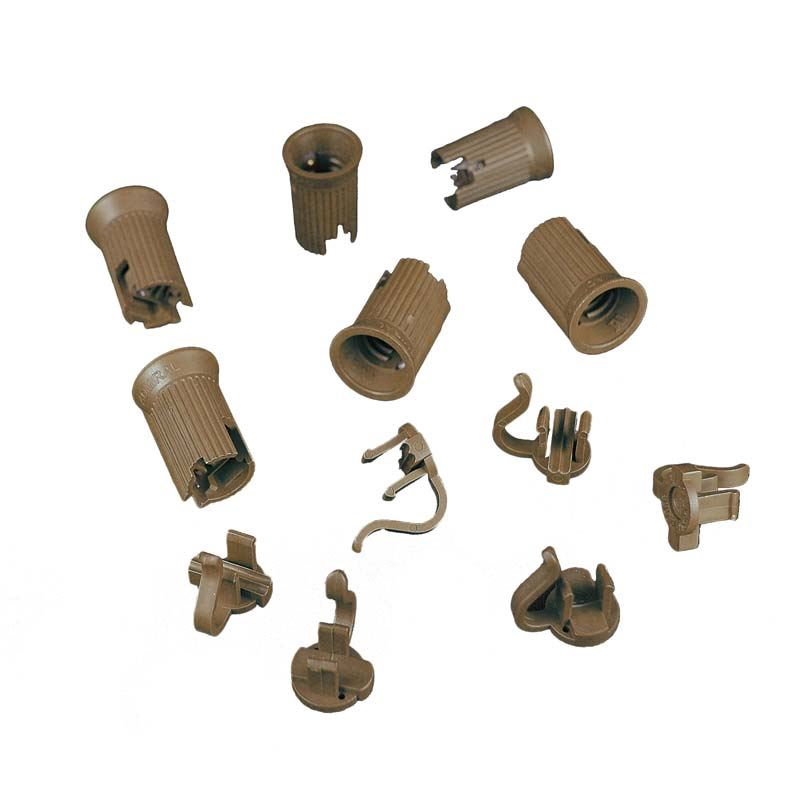 Picture of C9 SPT-1 Brown Sockets 50 Pack