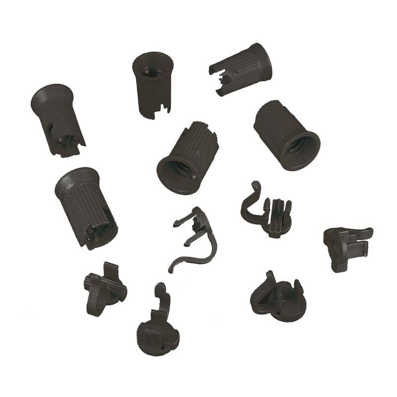 Picture of C9 SPT-2 Black Sockets 50 Pack