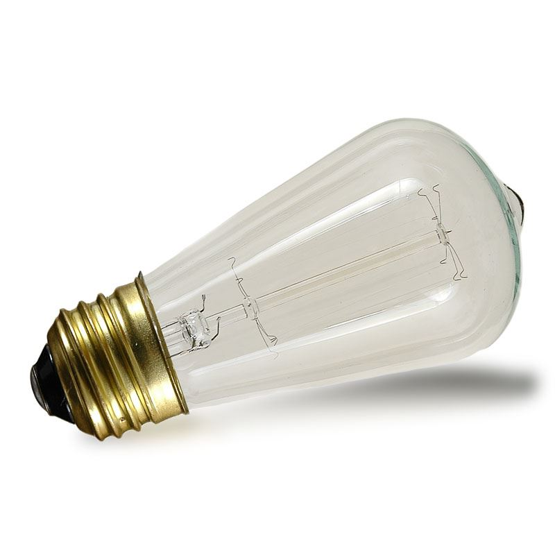 Picture of ST64 Vintage Edison Bulb - E26 - 25 Watt, 1 Pack**ON SALE**