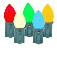 Picture for category Smooth Ceramic LED C7 Plastic Bulbs