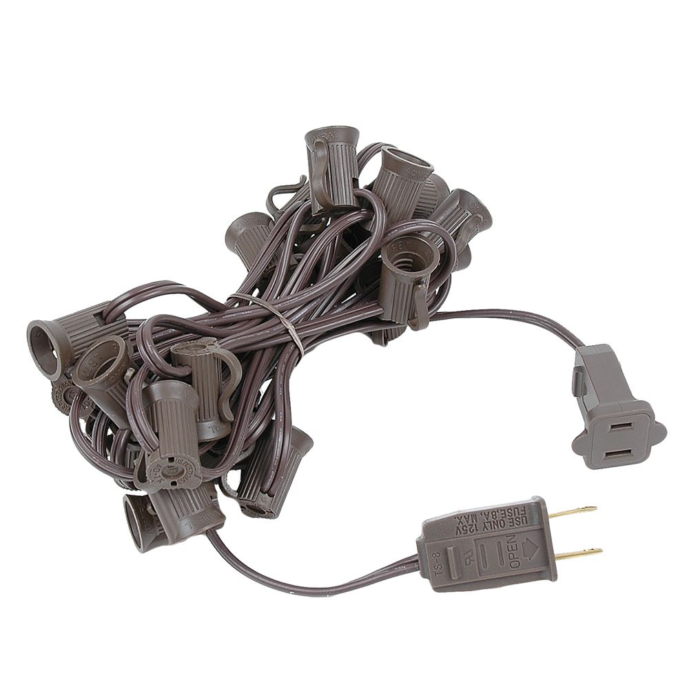 """Picture of C7 12.5' Stringers 6"""" Spacing - Brown Wire"""