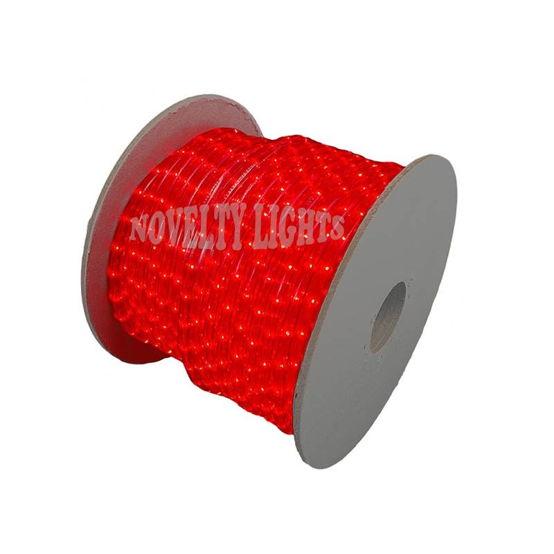 Picture of Red 150 Ft Chasing Rope Light Spools, 3 Wire 120v 1/2""