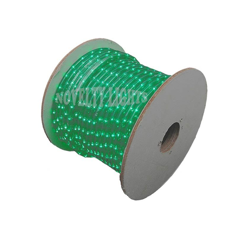 """Picture of Green 150 Ft Chasing Rope Light Spools, 3 Wire 120v 1/2"""""""