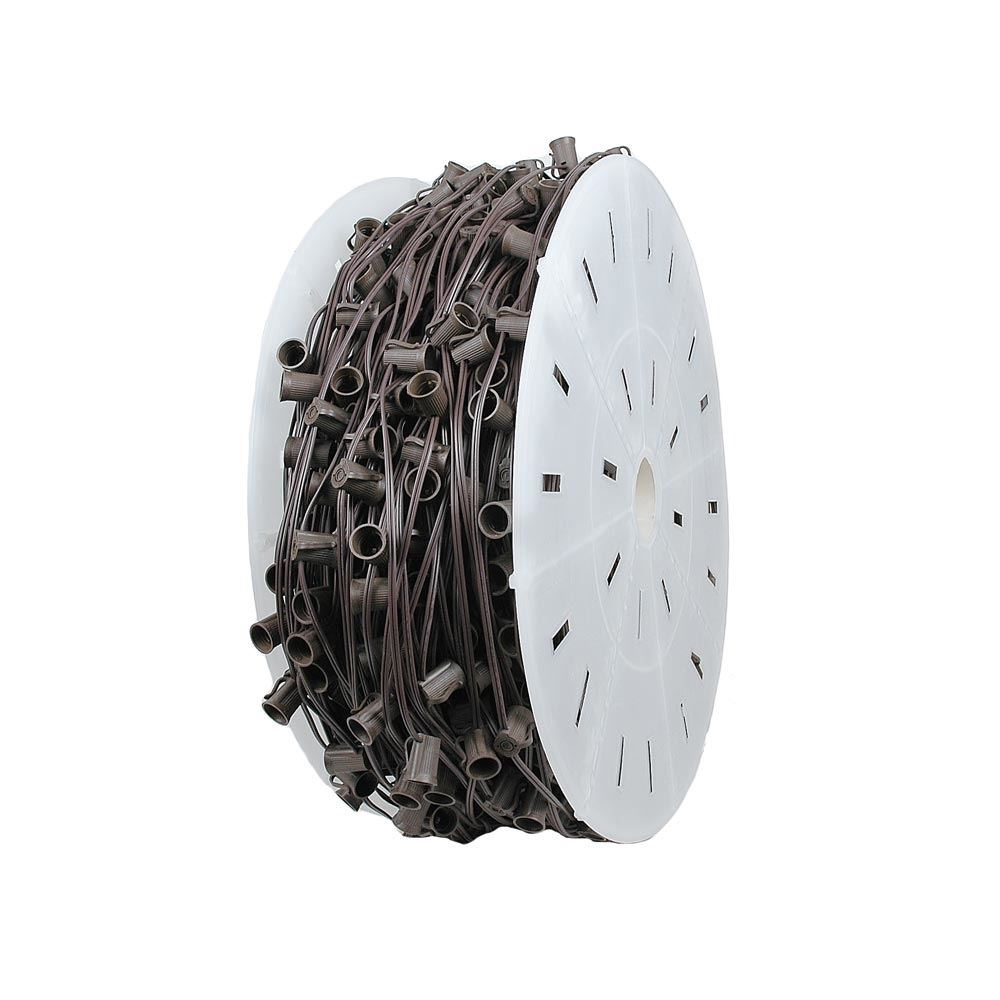 "Picture of C7 1000 Spool 12"" Spacing 8 Amp Brown Wire"
