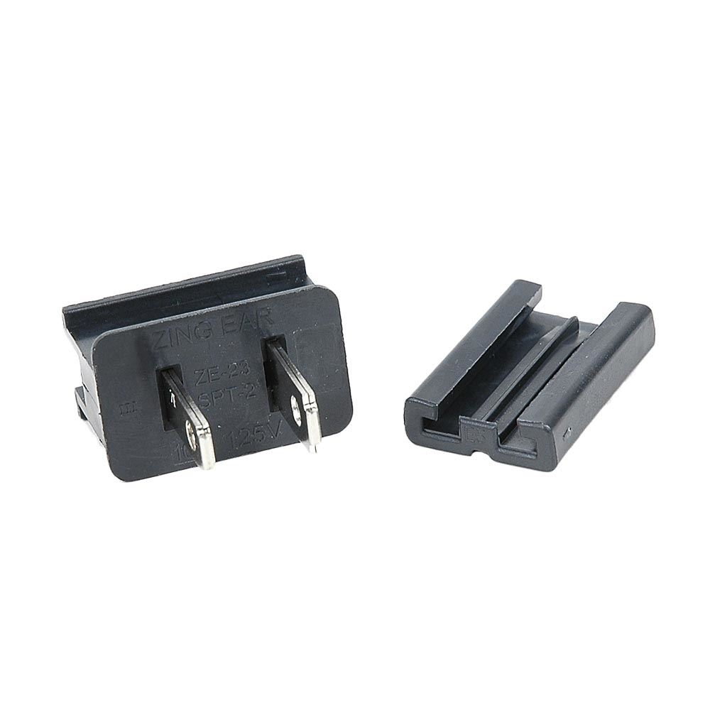 Picture of SPT-2 Male Plugs Black