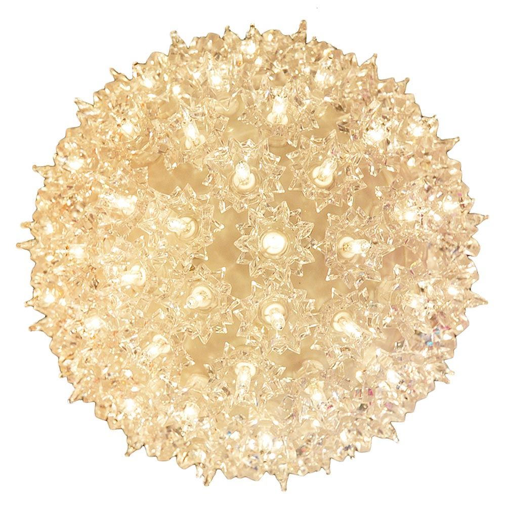 """Picture of 150 Light 10"""" Clear Twinkling Starlight Spheres"""