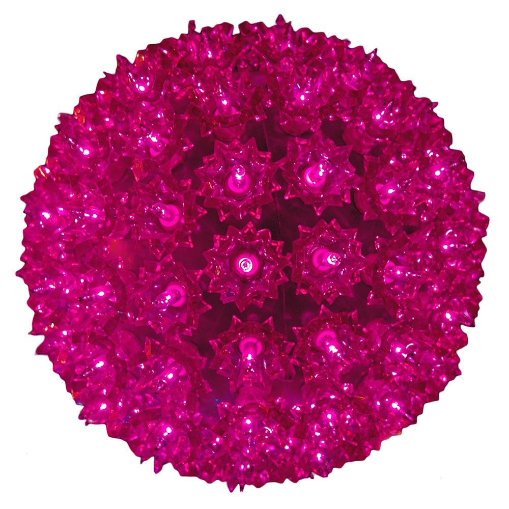 Picture of Purple 150 Light Starlight Sphere 10""