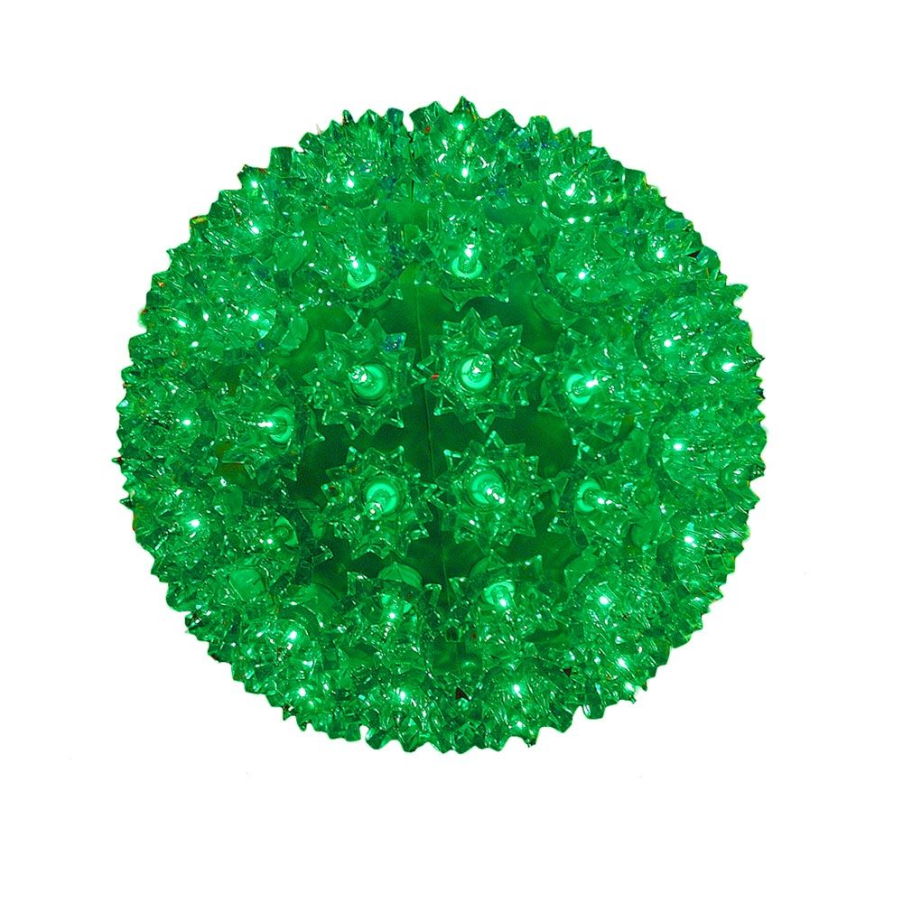 Picture of Green 100 Light Starlight Sphere 7.5""