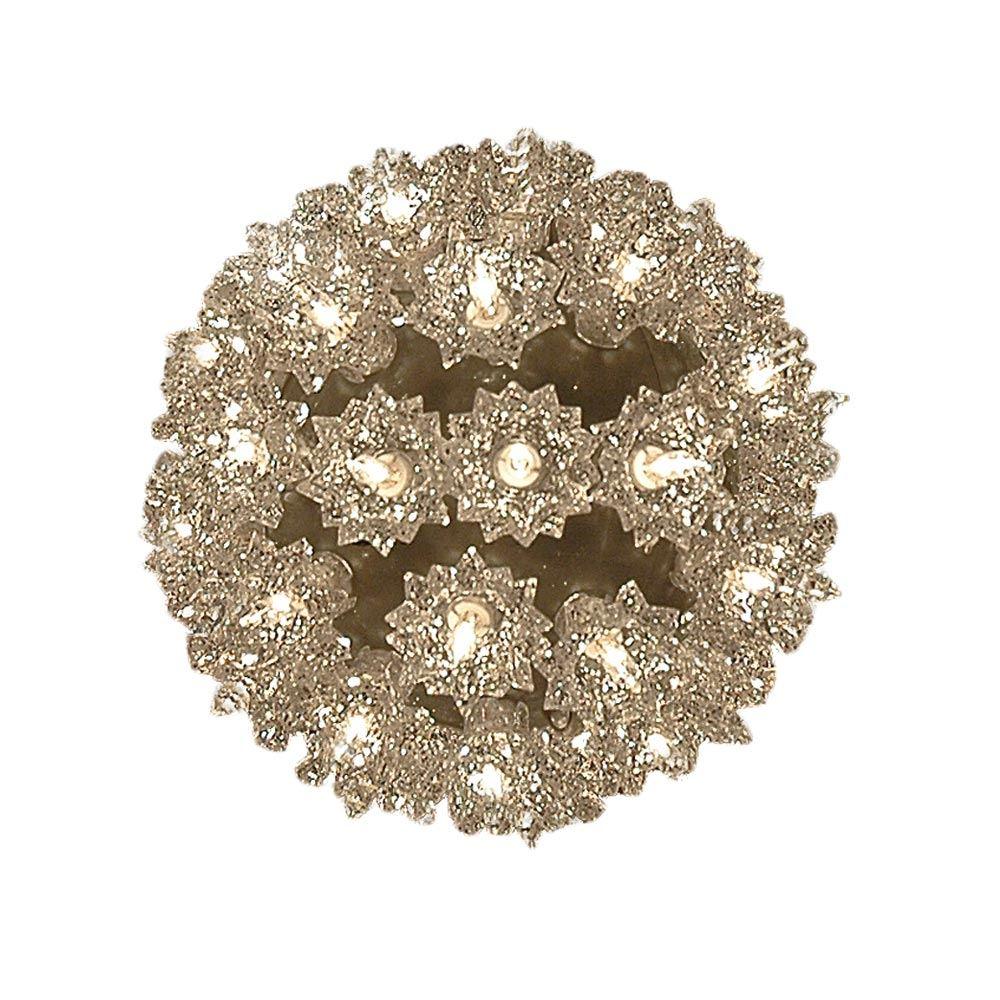 """Picture of Silver 50 Light Mini Starlight Sphere 6"""""""