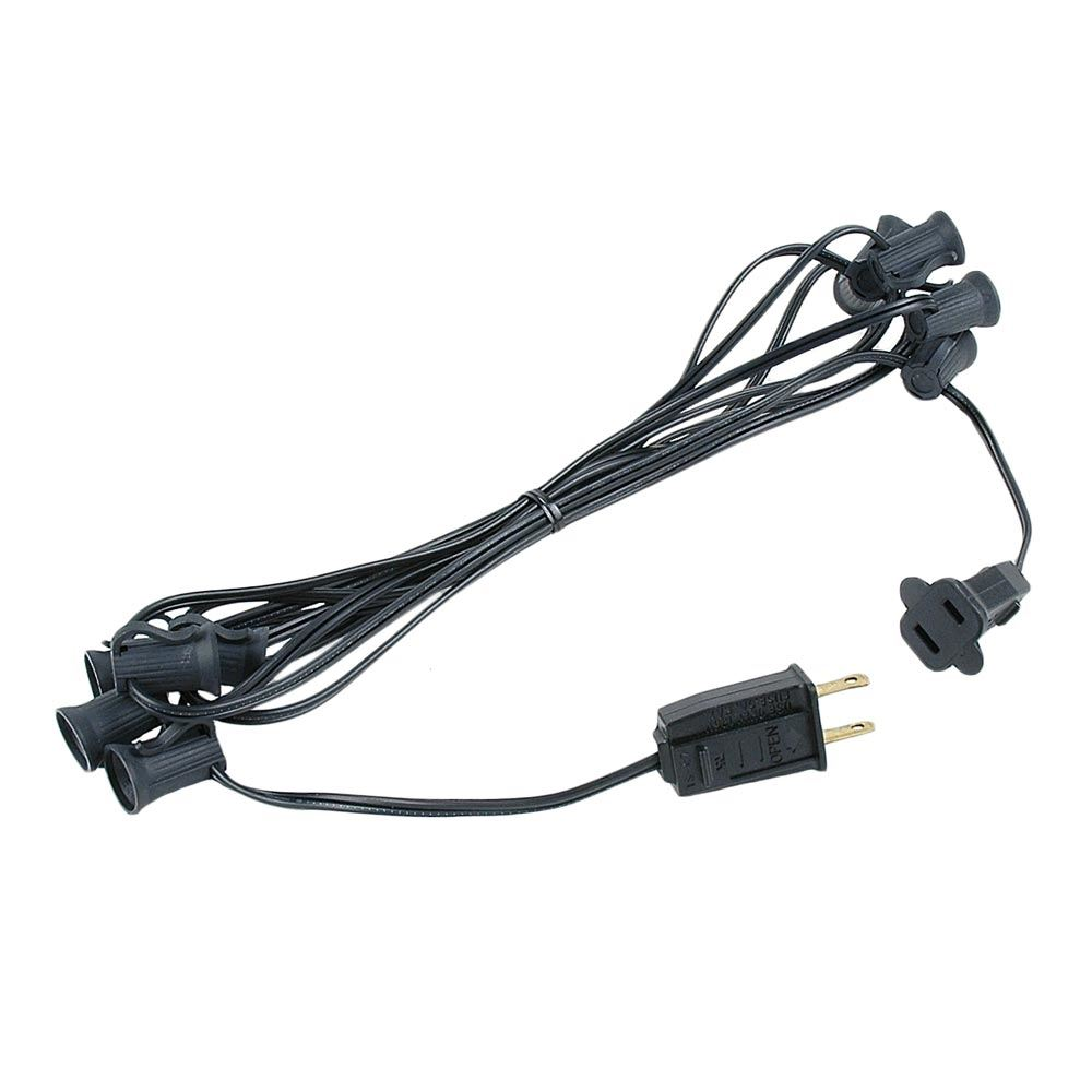 "Picture of C7 10' Stringers 12"" Spacing Black Wire"