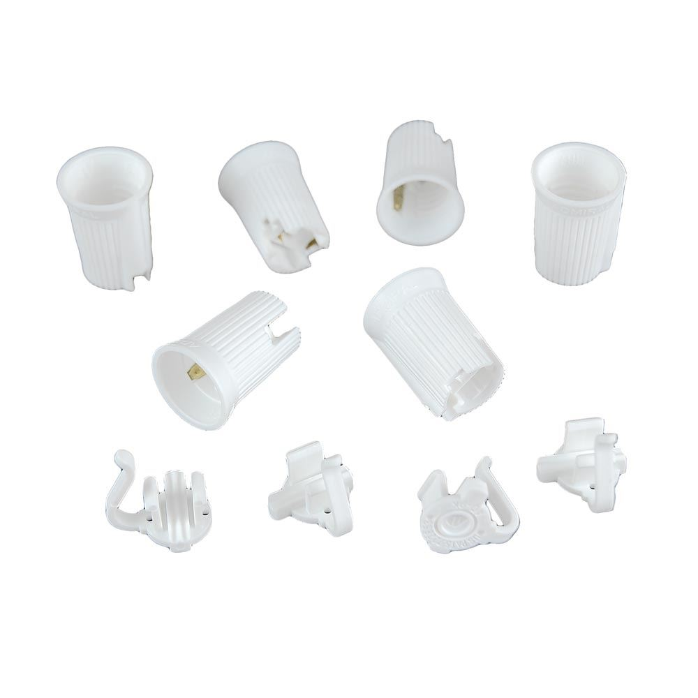 Picture of C9 SPT-2 White Sockets 50 Pack