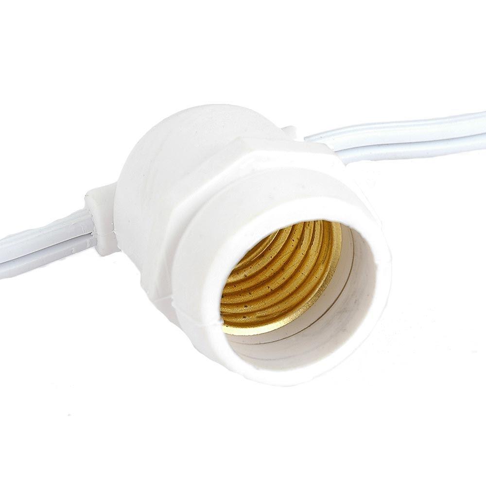 Picture of 37.5' White Commercial Grade Stringer (E26 Base)
