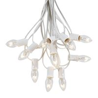 Picture for category C7 White Wire Outdoor String Light Sets