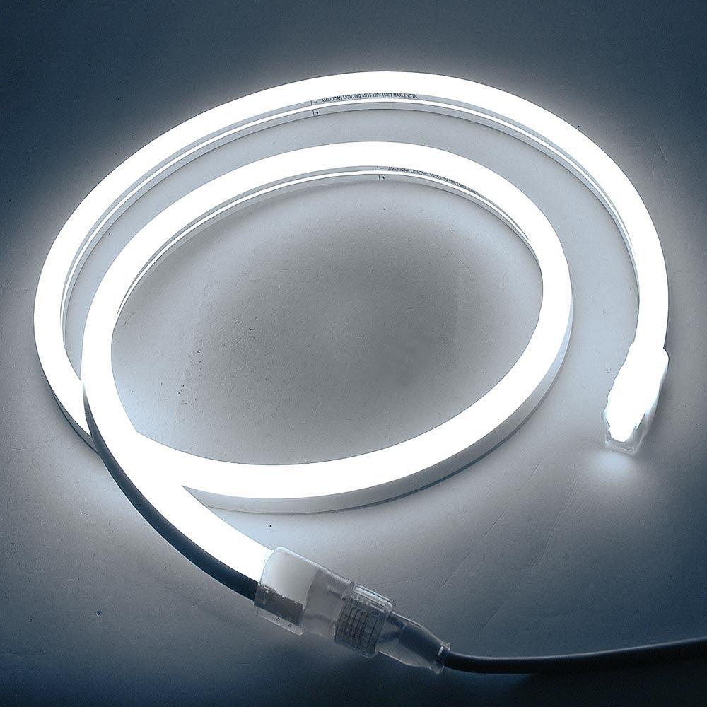 Picture of Pure White LED Neon Flex Custom Cut 120v
