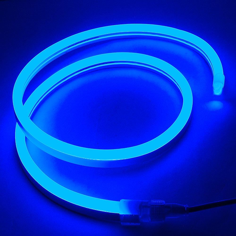 Picture of Blue LED Neon Flex Custom Cut 120v