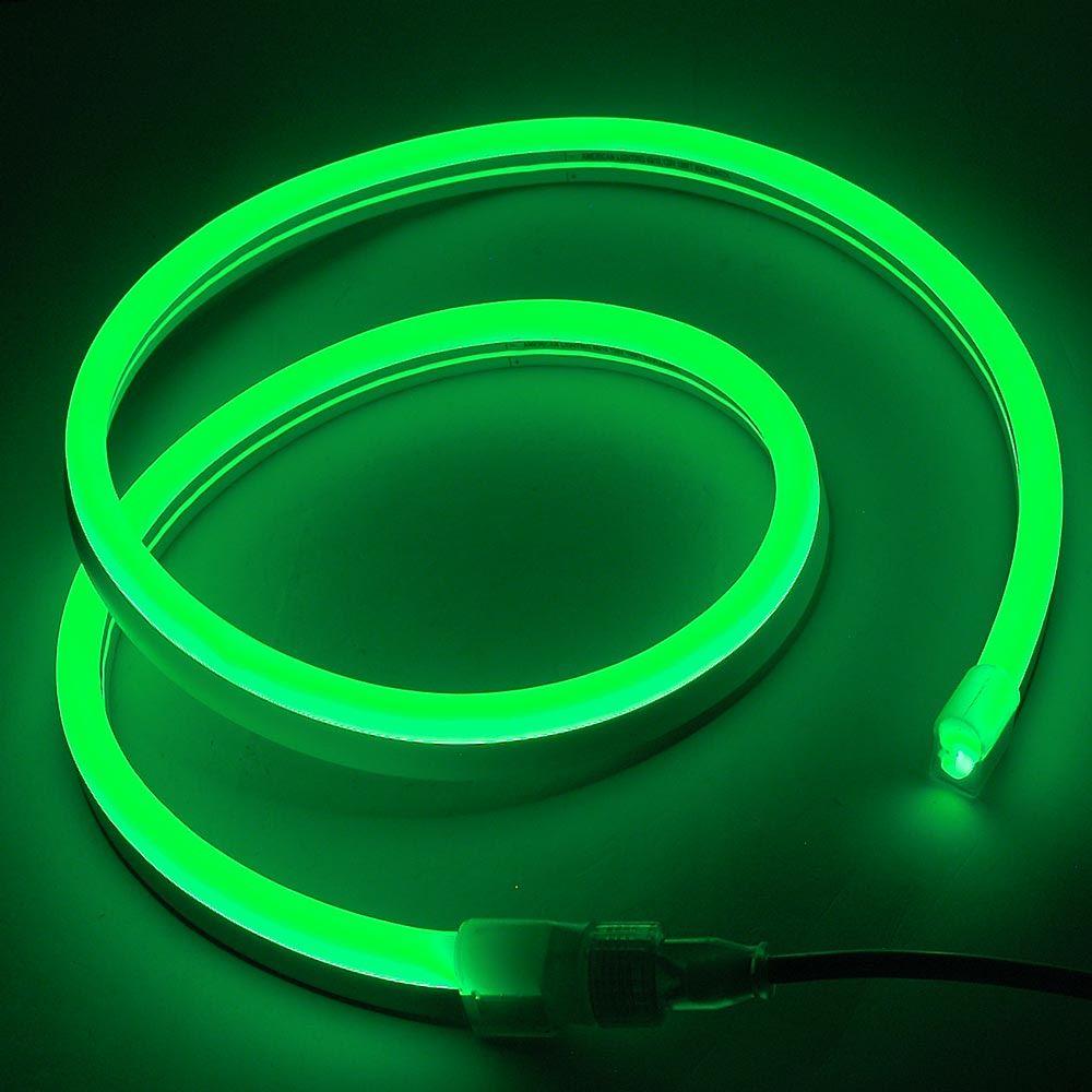Picture of Green LED Neon Flex Custom Cut 120v