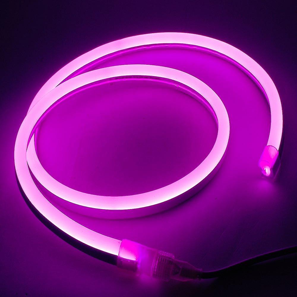 Picture of Pink LED Neon Flex Custom Cut 120v