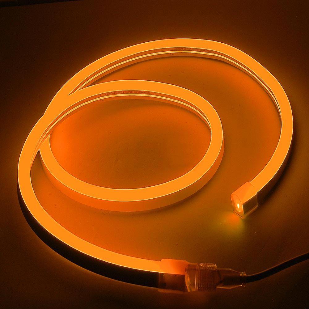 Picture of Orange LED Neon Flex Custom Cut 120v