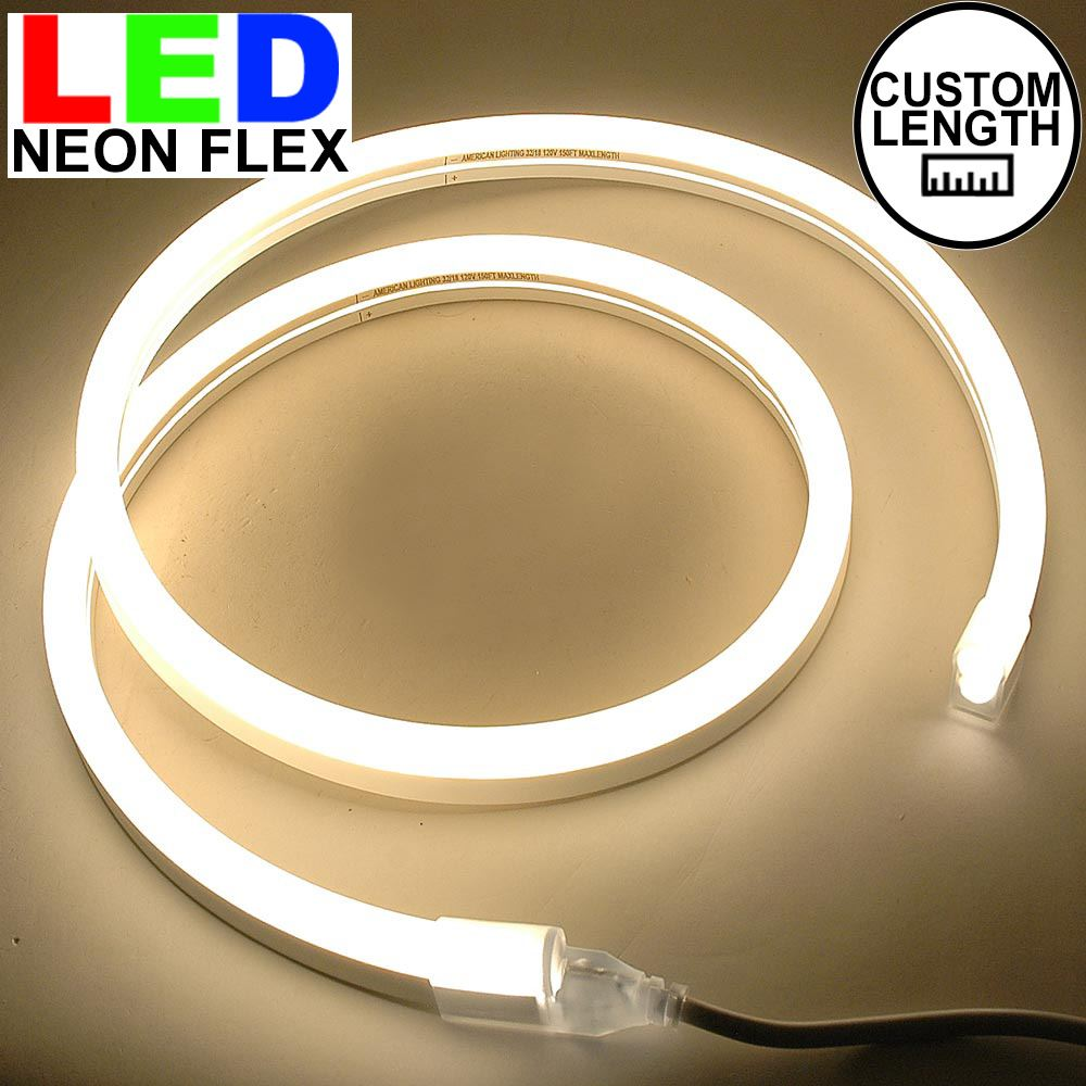 Picture of Warm White LED Neon Flex Custom Cut 120v