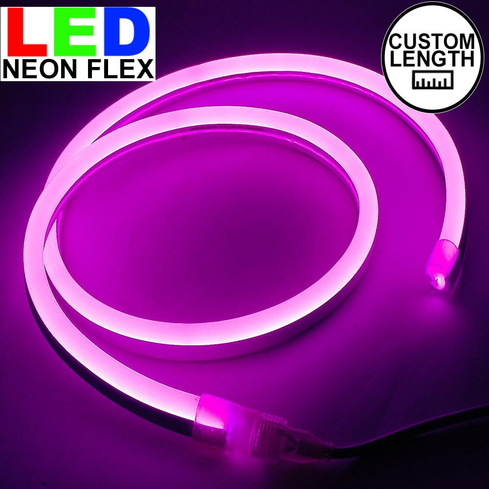 Picture of Pink LED Neon Flex Custom Cut 120v