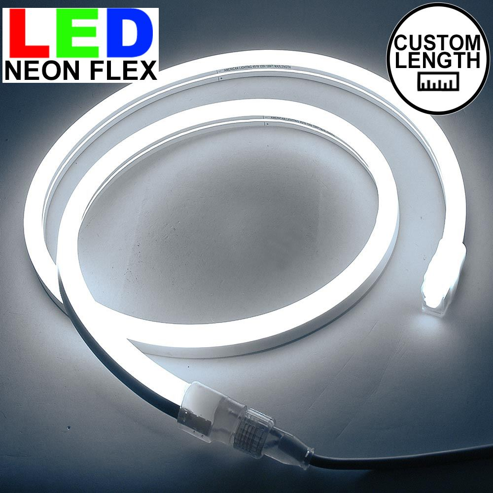 Picture of Pure White LED Neon Flex Custom Cut 120v