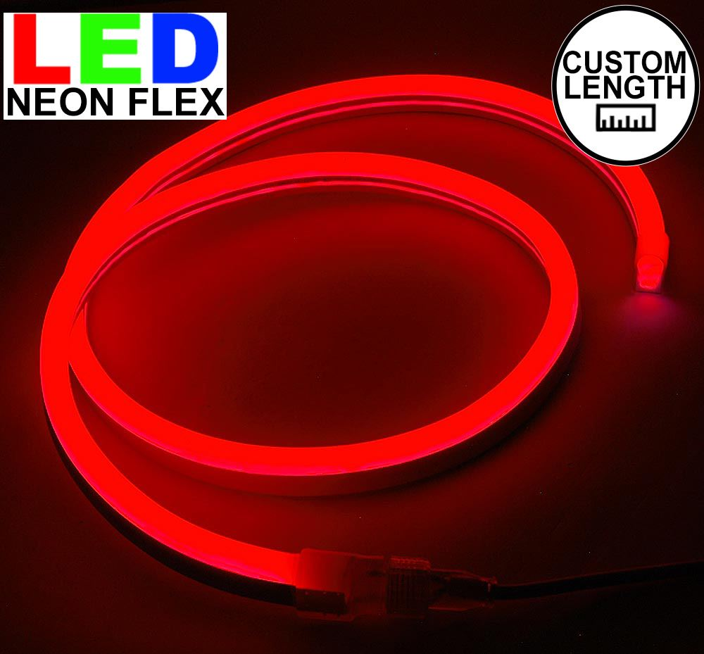 Picture of Red LED Neon Flex Custom Cut 120v