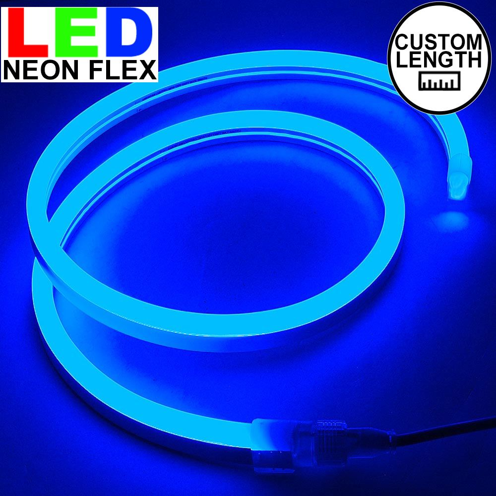 Picture of Blue LED Neon Flex Custom Cut 120v