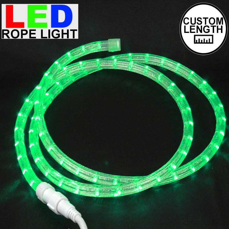 Custom Green Led Rope Light Kit