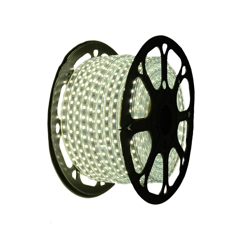 "Picture of Warm White LED Strip Light Spool 164' of 1/2"" 2 Wire 120V"