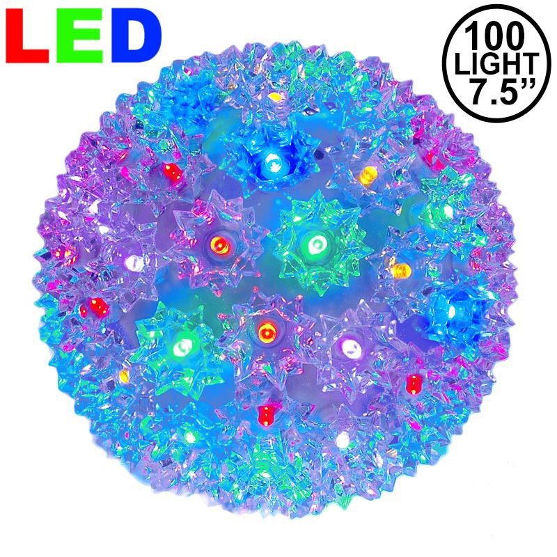 "Picture of 100 Multi LED 7.5"" Sphere"