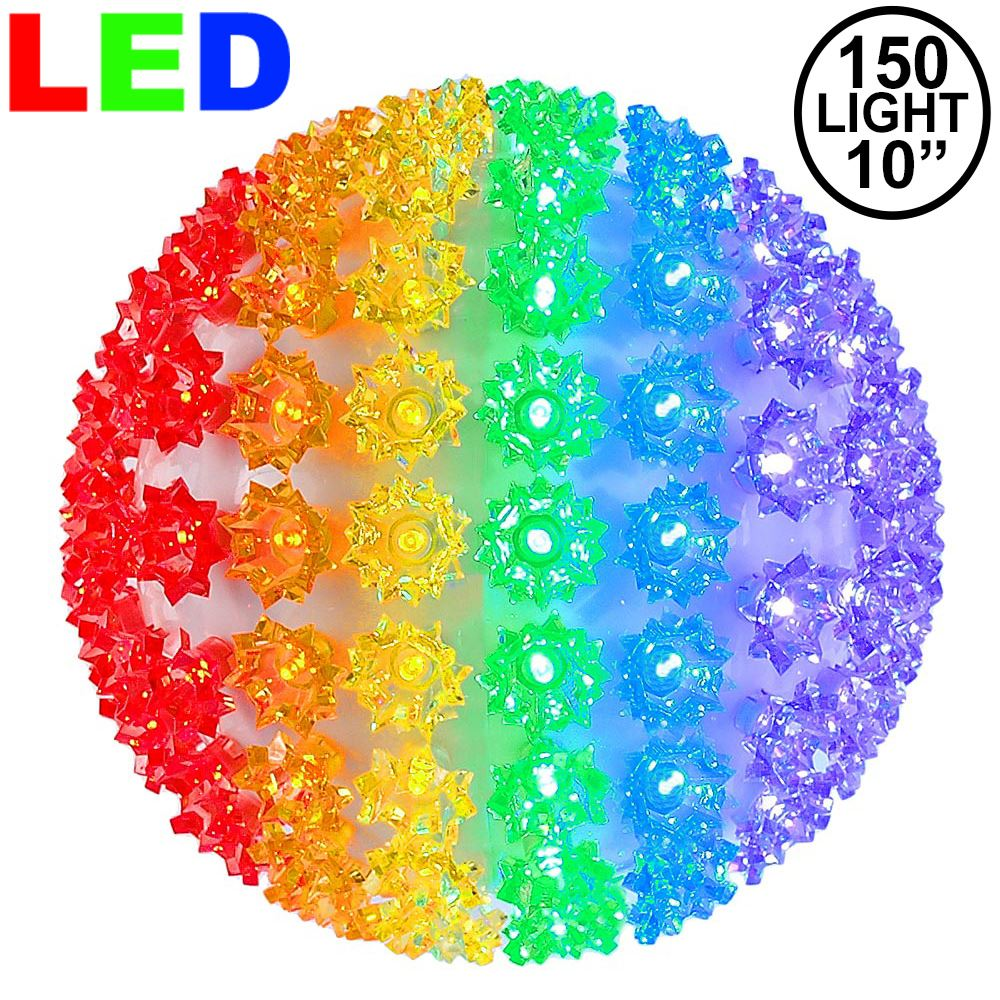 "Picture of 150 Rainbow LED 10"" Sphere"