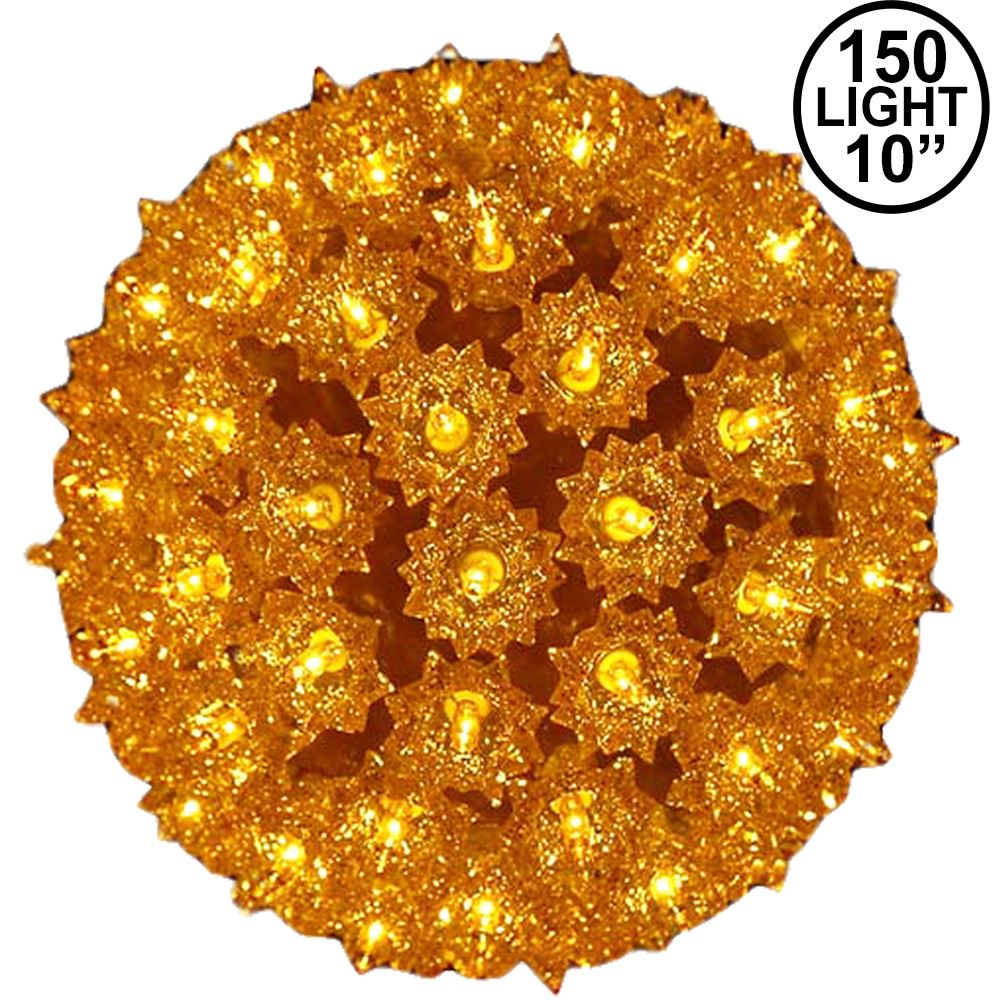 Picture of Gold 150 Light Starlight Sphere 10""