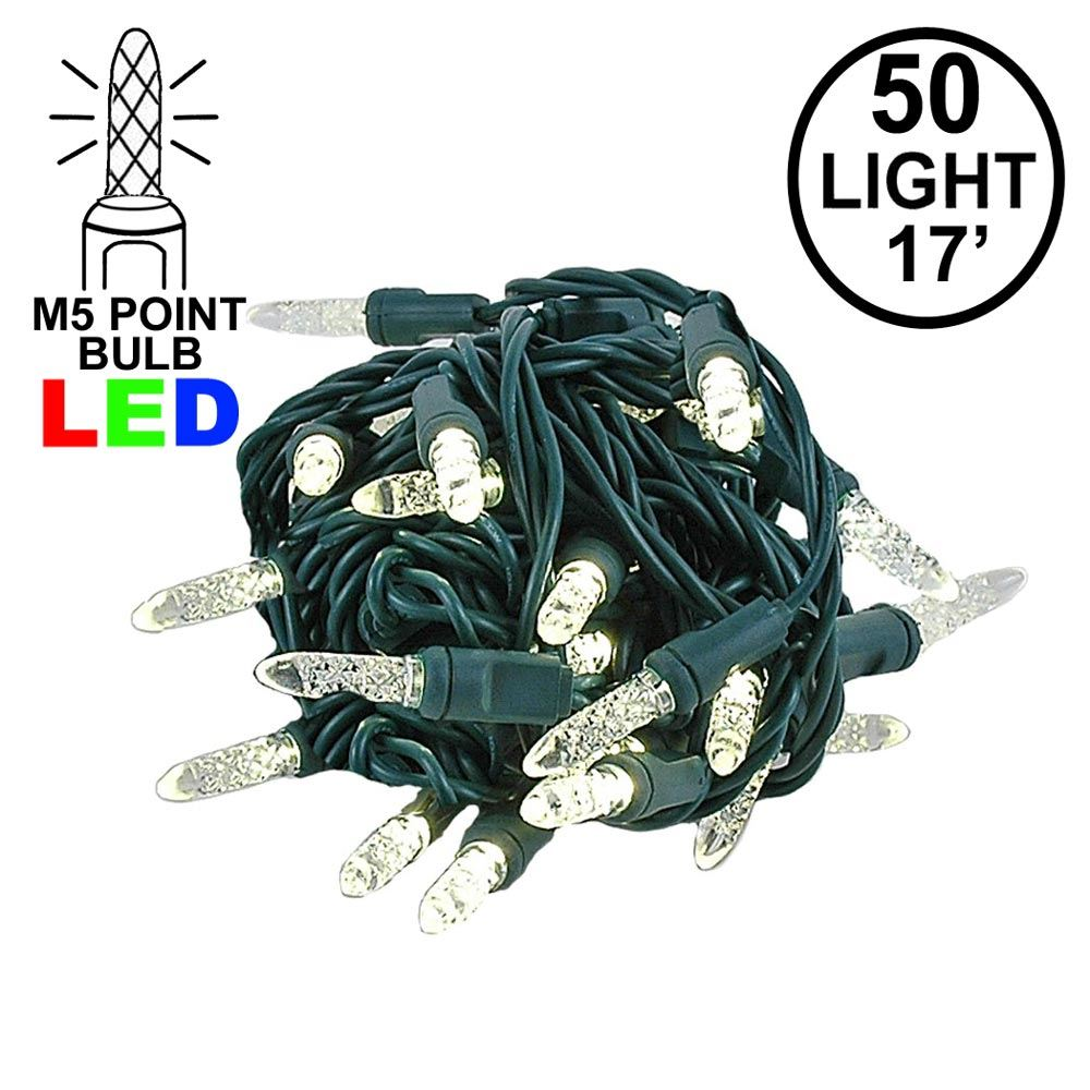 4 Spacing Coaxial M5 Warm White Led Christmas Lights