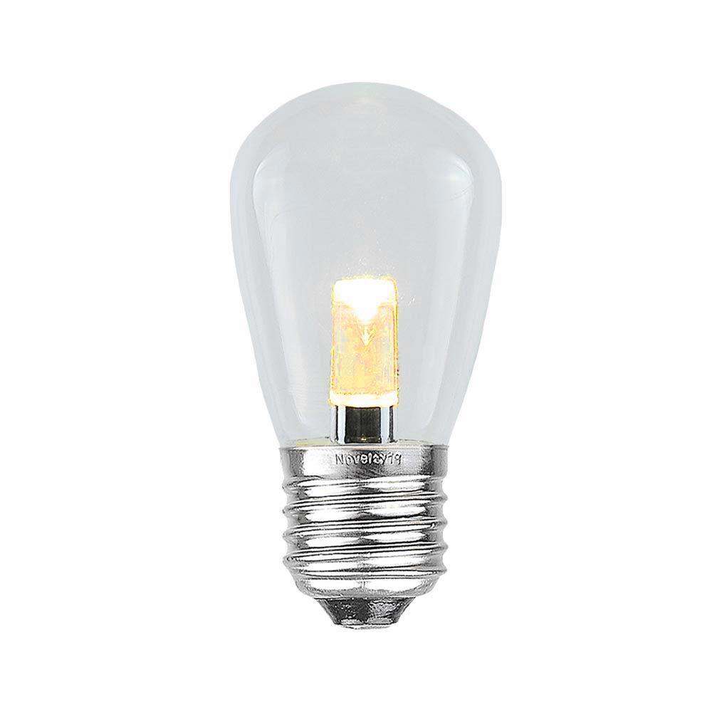 Picture of  Designer Series Ultra Warm White S14 LED Medium Base e26 Bulbs 25 Pack