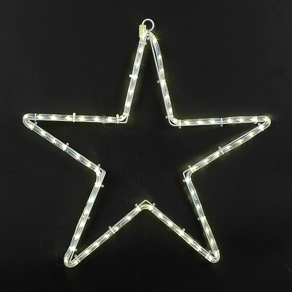 "Picture of 24"" Large Star Christmas LED Rope Light Motif"