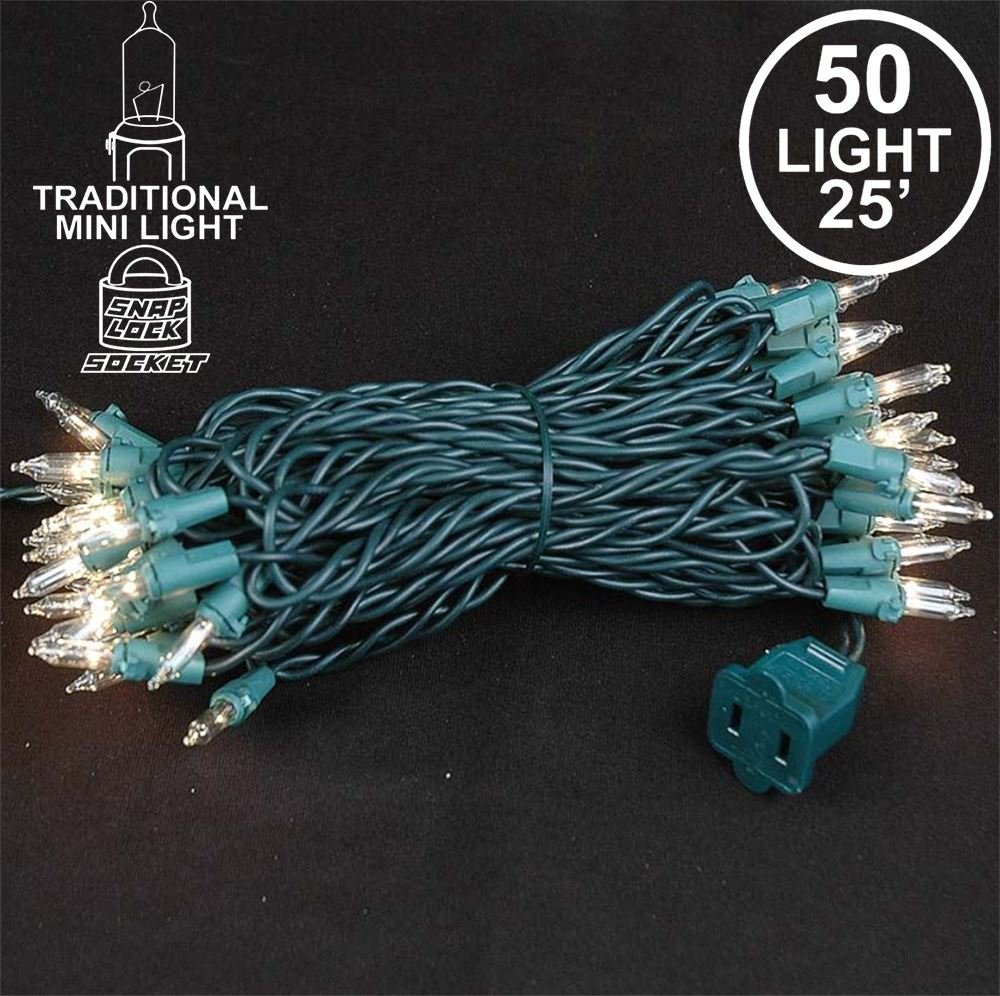Picture of 50 Light Random Twinkle Mini Lights 25'