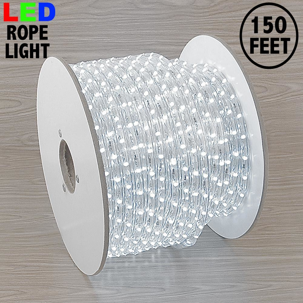 "Picture of Pure White LED Spool 150' 1/2"" 2 Wire 120V ***ON SALE***"