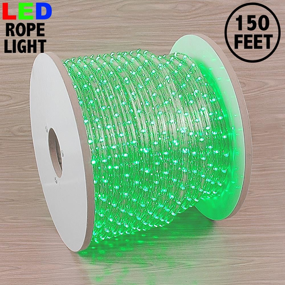 "Picture of Green LED Spool 150' 1/2"" 2 Wire 120V"