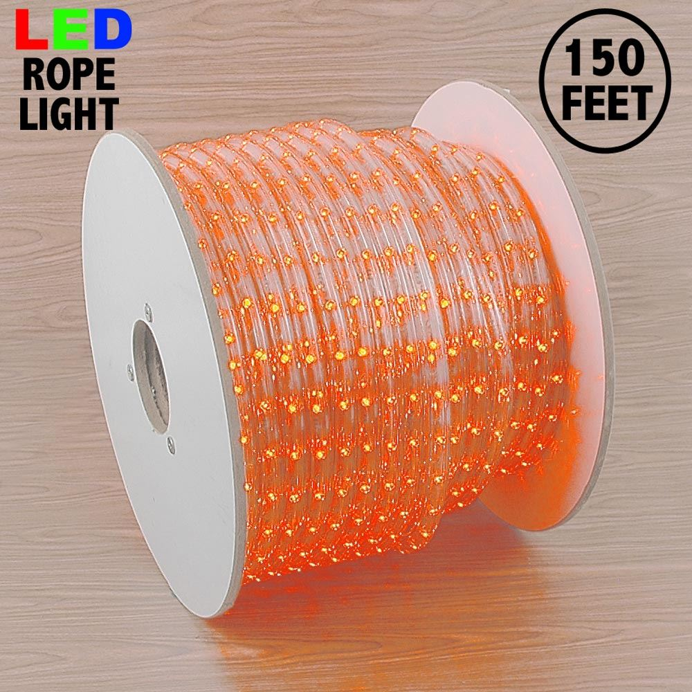 """Picture of Amber LED Spool 150' 1/2"""" 2 Wire 120V ***ON SALE***"""