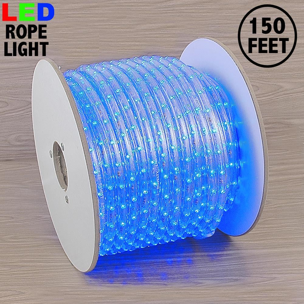 """Picture of Blue LED Spool 150' 1/2"""" 2 Wire 120V ***ON SALE***"""