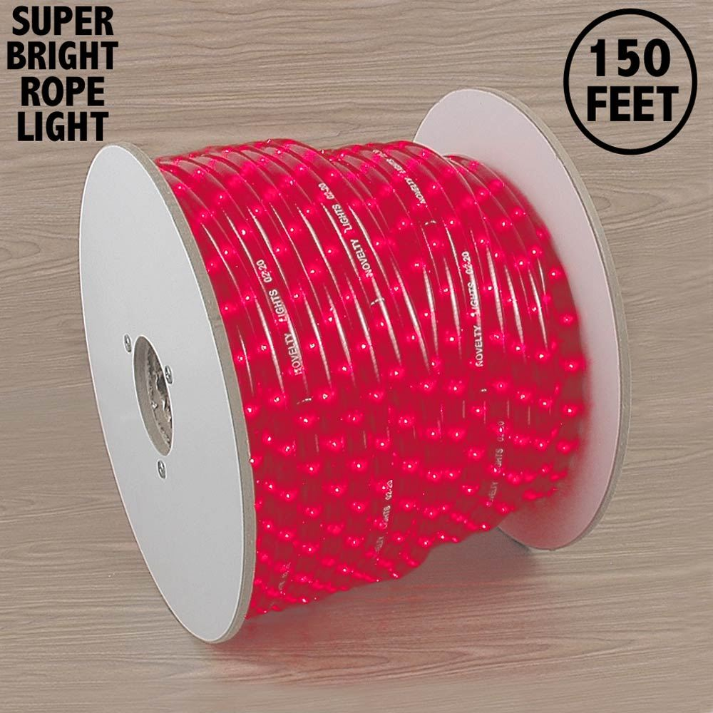 "Picture of 150 Ft Pink Rope Light Spool 1/2"" 120 Volt"