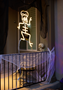 "Picture of 36"" Spooky Skeleton LED Rope Light Motif"