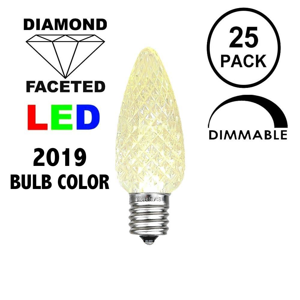 Picture of Old Color Warm White C7 LED Replacement Bulbs 25 Pack