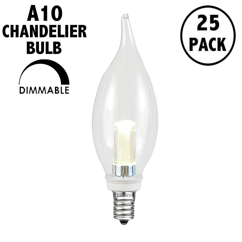 Picture of (25pk) CA10 LED Warm White Chandelier Light Bulb**ON SALE**